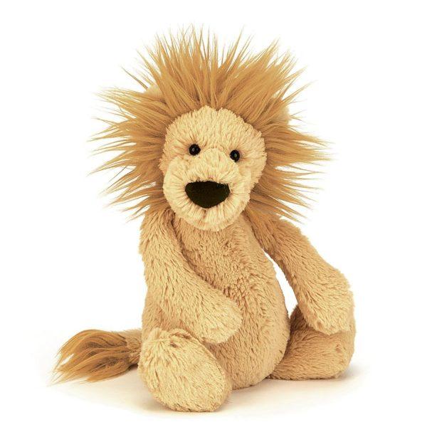Bashful Lion Stuffed Animal