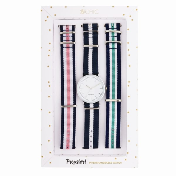 2 Chic Prepster Interchangeable Watch