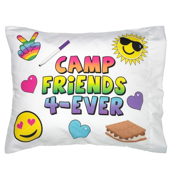 Camp Friends 4-Ever Autograph Pillowcase