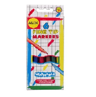 Fine Tip Markers 6pk