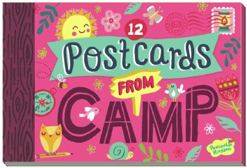 12 Girl's Postcards from Camp
