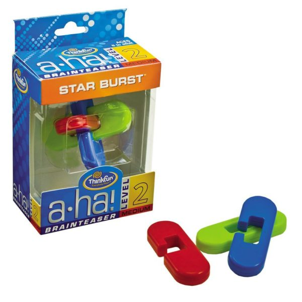 A-ha! Brainteaser Starburst