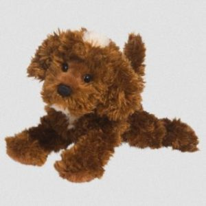 Chocolate Labradoodle Stuffed Animal