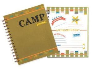 Boys Journal For Camp