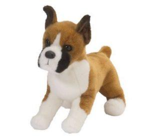 Bruschi Boxer Stuffed Dog