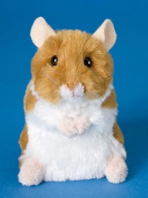Brushy Hamster Stuffed Children's Toy