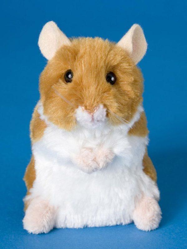 Brushy Hamster Stuffed Children's Toy