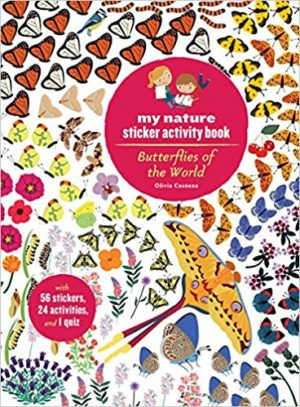 Sticker Activity Book - Butterflies of the World