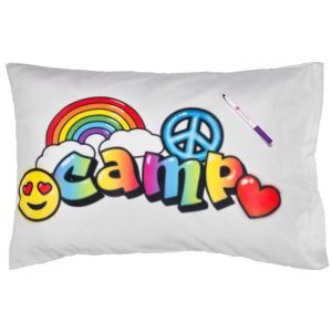 Air Brush Camp Autograph Pillowcase