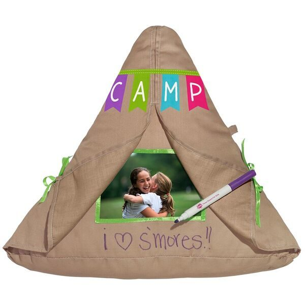 Camp Autograph Tent Pillow