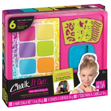 Chalk It Out Hair Stencil Kit