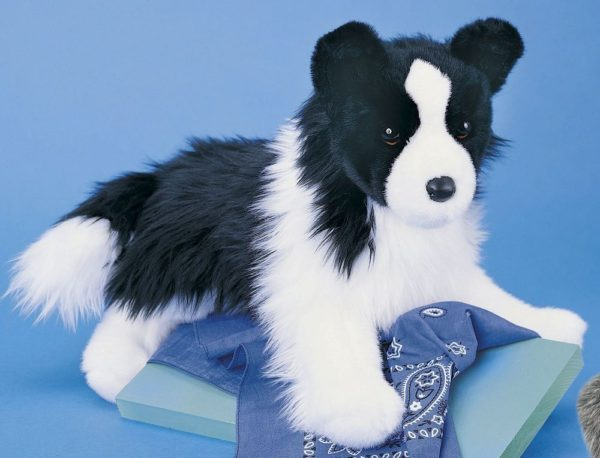 Chase Border Collie Stuffed Animal