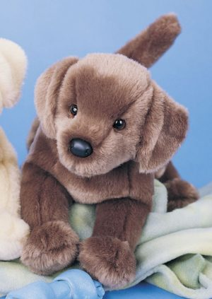 Cocoa Chocolate Lab Stuffed Animal