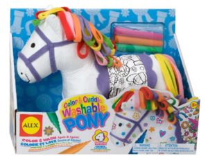 Color and Cuddle Pony Washable Pony