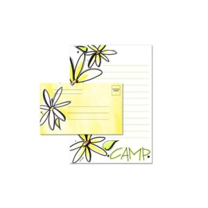 Daisy Fold & Seal Cards