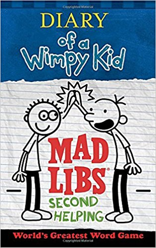 Diary of a Wimpy Kid 2 Mad Libs