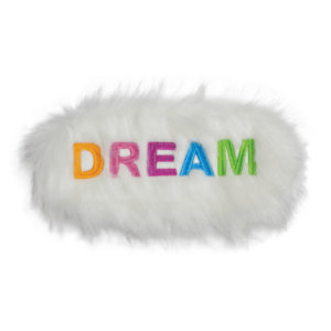 Dream Furry Embroidered Eye Mask