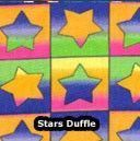Duffle Bag Multi Color Stars