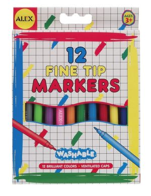 Fine Tip Markers 12pk