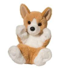 George Corgi Handful Stuffed Animal