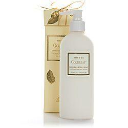 Goldleaf Perfumed Body Cream