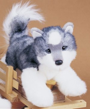 Joli the Husky Stuffed Dog