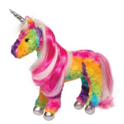 Joy Rainbow Unicorn w/ Brush