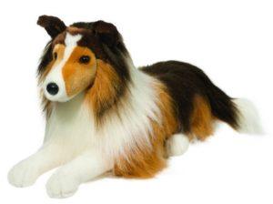 Lassie Medium Stuffed Dog