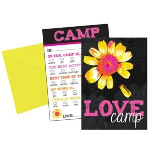 Love Camp Fill-In Cards