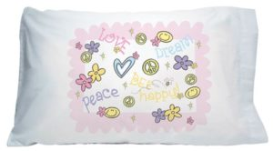 Love Dream Bee Happy Pillowcase