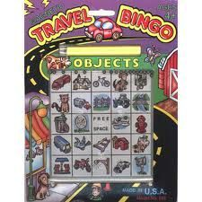 Magnetic Travel Bingo