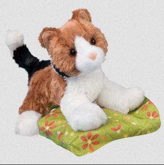 Maps Calico Cat Stuffed Animal