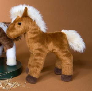 Mr Brown Chestnut Horse Stuffed Animal