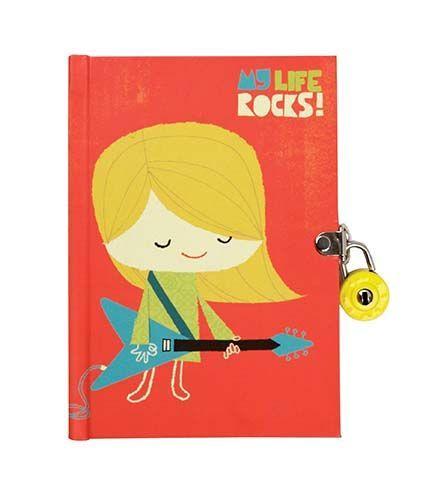 My Life Rocks Locked Journal