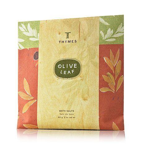 Olive Leaf Bath Salts