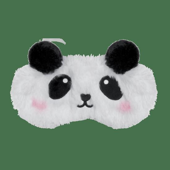 Panda Furry Embroidered Eye Mask