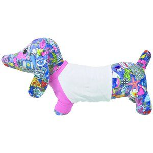 Patches Hot Dog Autograph Pillow