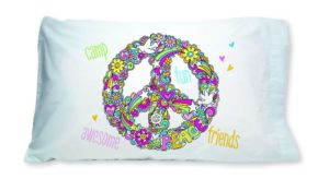 Peace Symbol Pillowcase