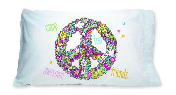 Peace Symbol Pillowcase