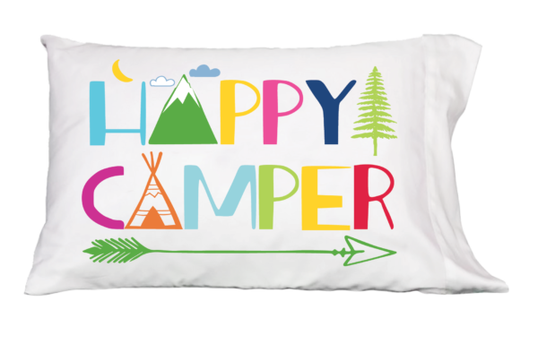 Happy Camper Pillowcase