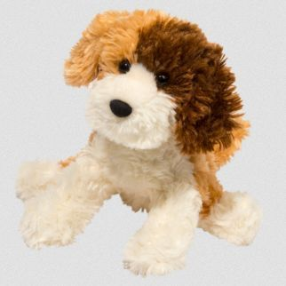 TriColor Labradoodle Stuffed Animal