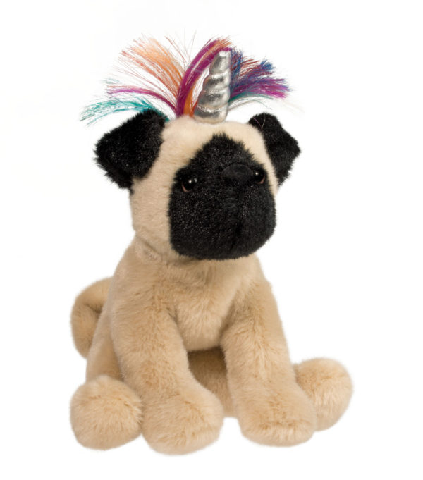 Pugicorn Stuffed Animal