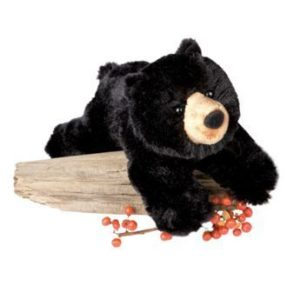 Black Bear Stuffed Animal