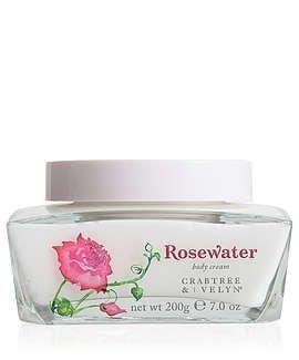 Rosewater Body Cream