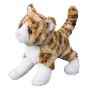 Sadie Tiger Stripe Cat Stuffed Animal