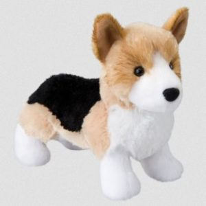 Shorty Tri-Color Corgi Stuffed Animal