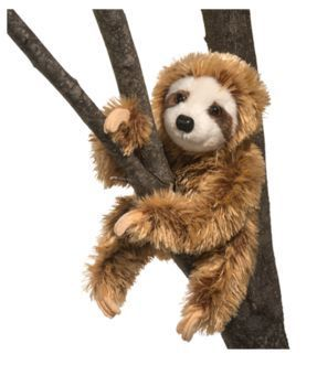 Simon Sloth Stuffed Animal