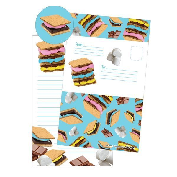 S'mores Foldover Cards