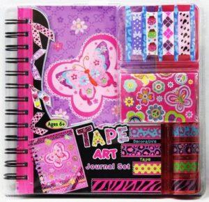 Tape Art Journal Set Butterfly