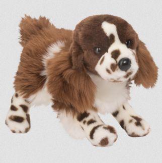 Tick Tock Springer Spaniel Stuffed Toy